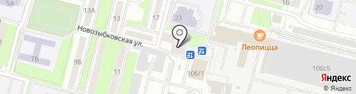 Детская библиотека №7 на карте Брянска