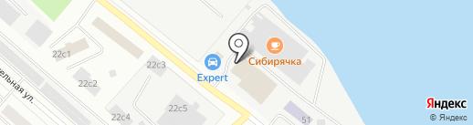 Гепард на карте Петрозаводска