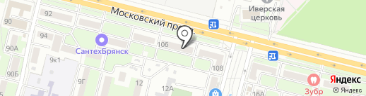 Городское общество защиты прав потребителей на карте Брянска