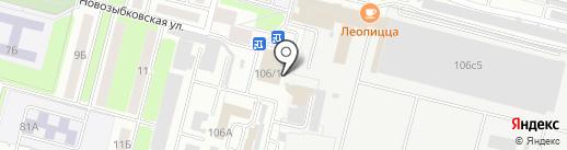 Альфаком на карте Брянска