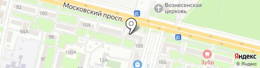 Автоклассика на карте Брянска