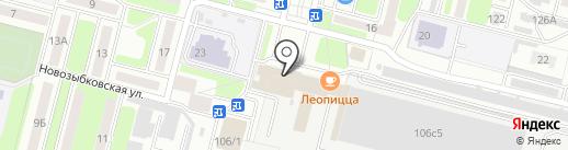 Дорожное управление Советского района г. Брянска на карте Брянска