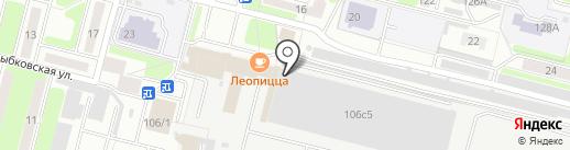 Форвард на карте Брянска