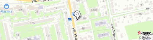 Элга на карте Брянска