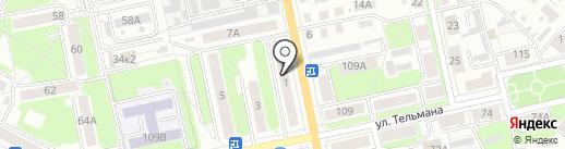 МаКи на карте Брянска