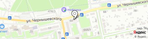 Продуктовый магазин Близнецы на карте Брянска