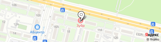 ЗУБр на карте Брянска