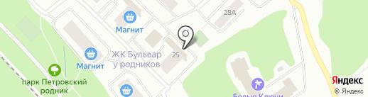 Салон естественной красоты на карте Петрозаводска
