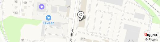 Совтрансавто-Брянск-Холдинг на карте Брянска