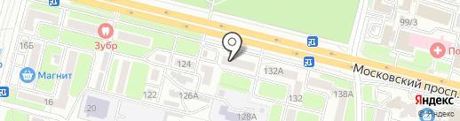 Почтовое отделение №4 на карте Брянска