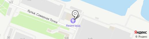 Мир приключений на карте Петрозаводска