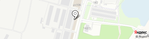 Оптовый склад на карте Брянска