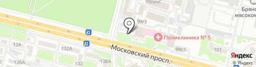Мир Лепнины на карте Брянска