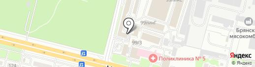 СанДепо на карте Брянска