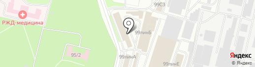 Студия плитки на карте Брянска