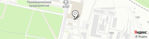 Титан на карте Брянска