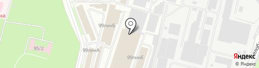 Газкомплект на карте Брянска