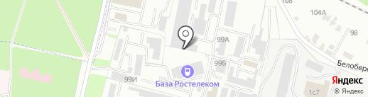 Агротех на карте Брянска