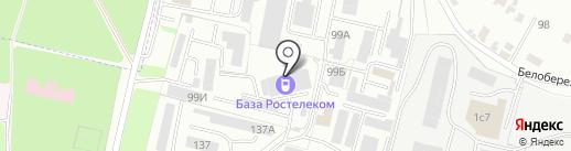 Диспак на карте Брянска