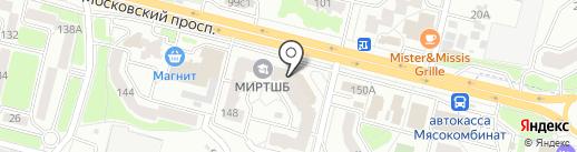 Магазин спортинструментов и велосипедов на карте Брянска