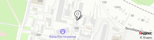 Проектно-строительная мастерская на карте Брянска