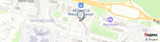 Для милых дам на карте Брянска