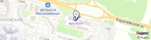 Арт-Лима на карте Брянска