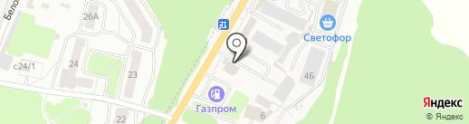 СТО40 на карте Брянска