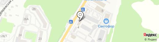 Atego на карте Брянска