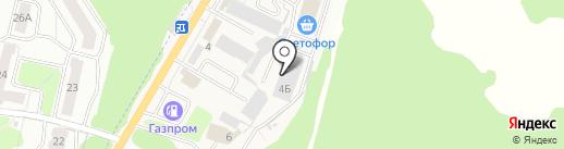 Брянск-Бакалея на карте Брянска