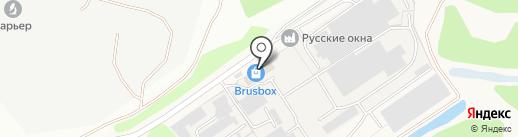 Русские окна на карте Брянска