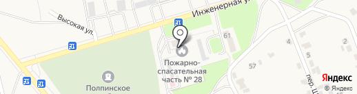 Пожарно-спасательная часть №28 на карте Брянска
