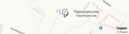 Партизанская амбулатория общей практики-семейной медицины на карте Партизанского