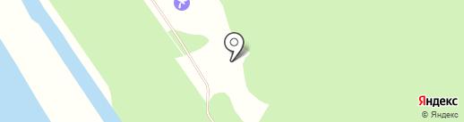 Зеленый огонек на карте Кировского