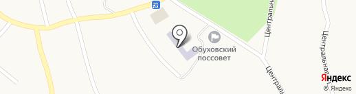 Кіровська середня загальноосвітня школа на карте Кировского
