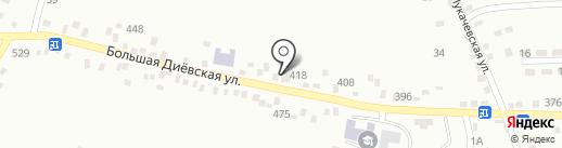 Централізована система бібліотек для дітей на карте Днепропетровска