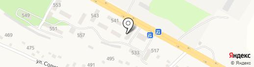 Почтовое отделение №1 пгт. Кировское на карте Кировского