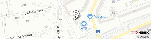RUAN на карте Днепропетровска