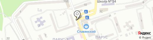 Сундучок на карте Днепропетровска