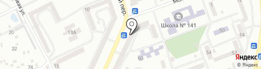 Чарівна ниточка на карте Днепропетровска