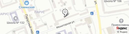 Днепрогаз на карте Днепропетровска