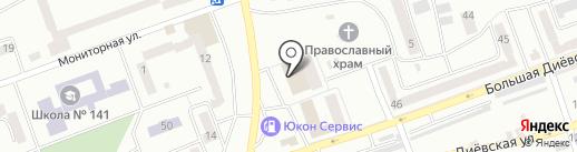 Мебель на карте Днепропетровска