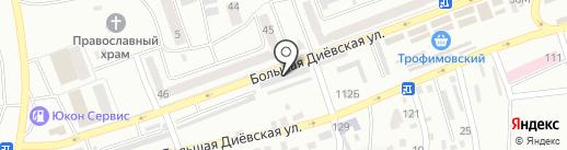 Love+ на карте Днепропетровска
