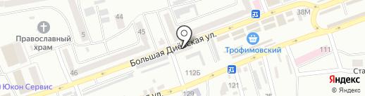 ВСЕ ДЛЯ ОКОН И ДВЕРЕЙ на карте Днепропетровска