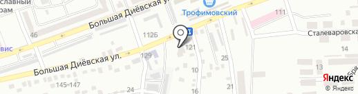 Динамис Мобилис на карте Днепропетровска