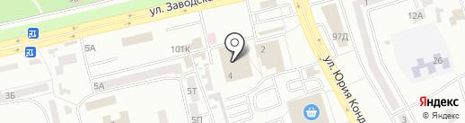 ОксиЛЭНД на карте Днепропетровска