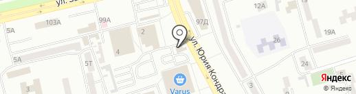Для Вас на карте Днепропетровска