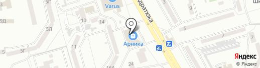 БЫСТРОЗАЙМ на карте Днепропетровска