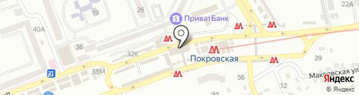 Цветы на карте Днепропетровска