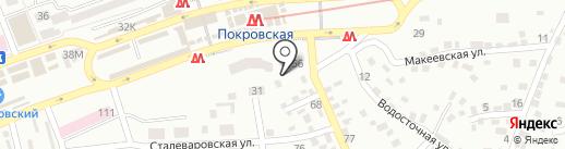 Нефтосервис на карте Днепропетровска